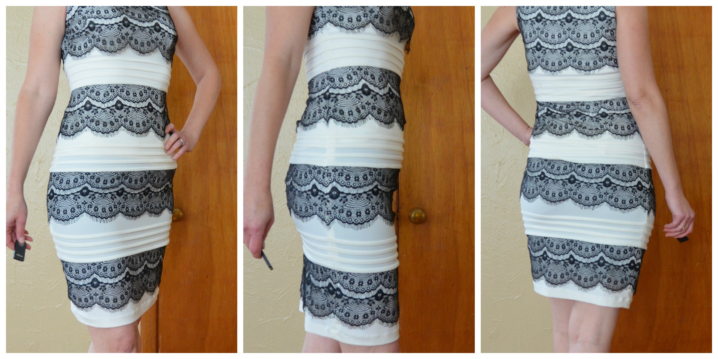 Black and White Dress by JAX