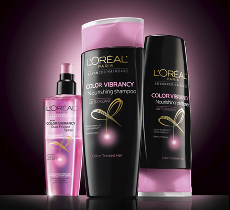 LOreal Color Vibrancy Hair Care