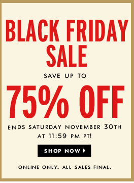Kate Spade Black Friday Sale Extended Through Saturday - Up to 75% Off!