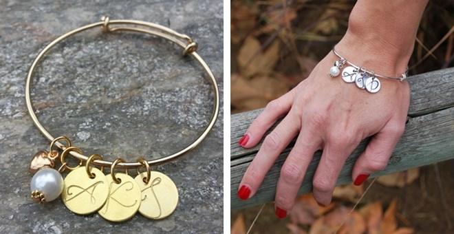 jane initial bracelet