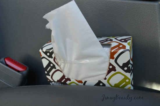 Kleenex Car Wedge 2