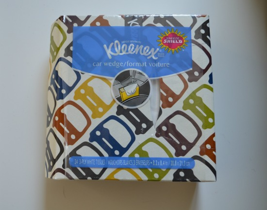 Kleenex Car Wedge