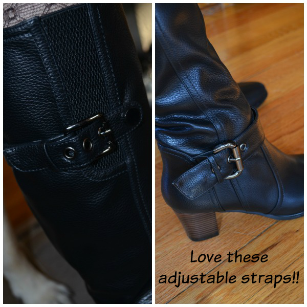 Monroe and Main Side Gore Boot Adjustable Straps