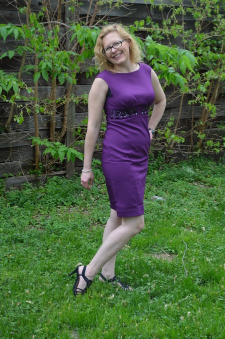 Bejeweled Sheath Dress