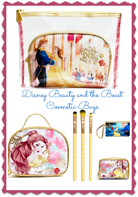 Disney Beauty and the Beast Cosmetic Bags