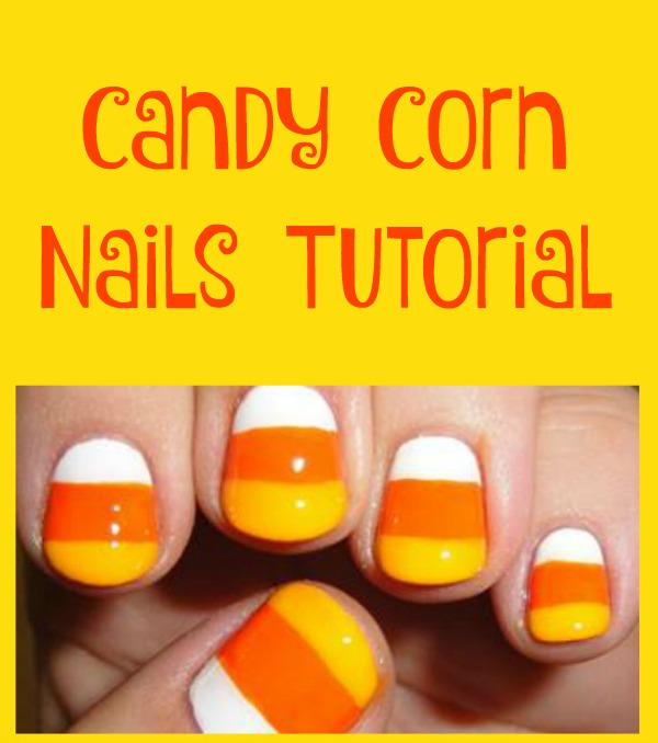 Candy Corn Nails Tutorial