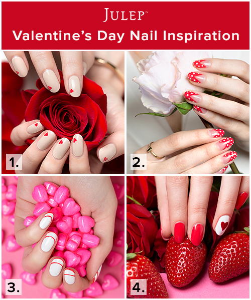 Valentine's Day DIY Nail Inspiration