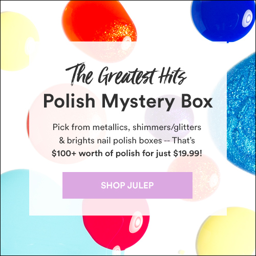 Julep The Greatest Hits Polish Mystery Box!