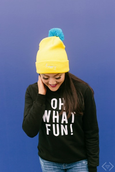 Amy Tan Collection Oh What Fun Sweatshirt