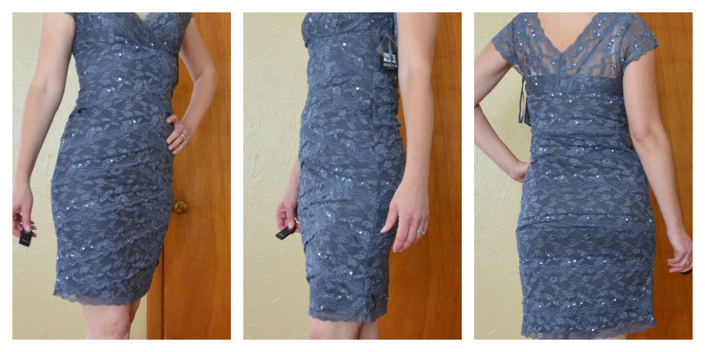 Charcoal Dress by Marina
