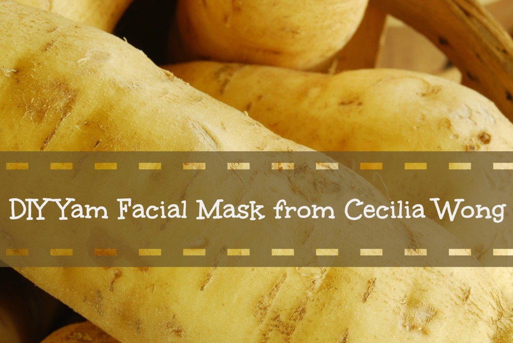 DIY Yam Facial Mask