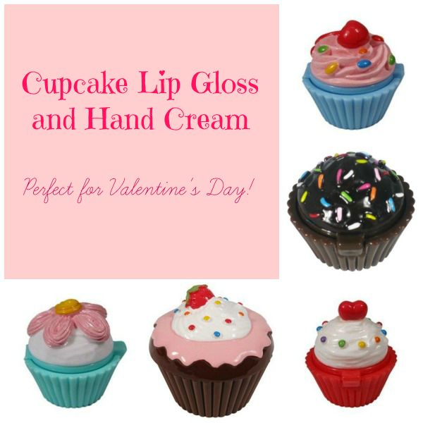 Cupcake Lip Gloss Hand Cream