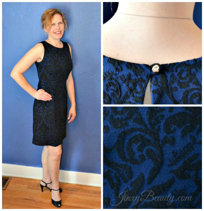Monroe and Main Jacquard Dress