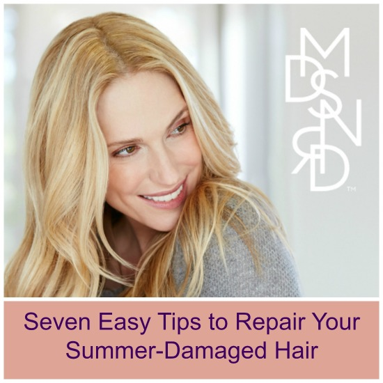 Seven Easy Tips to Repair Your Summer-Damaged Hair