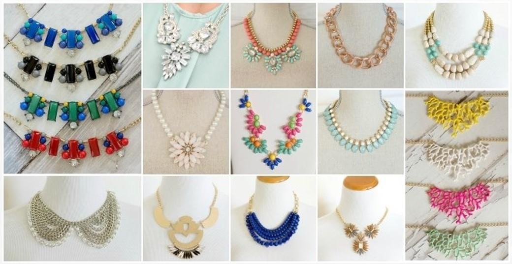 jane statement necklace sale