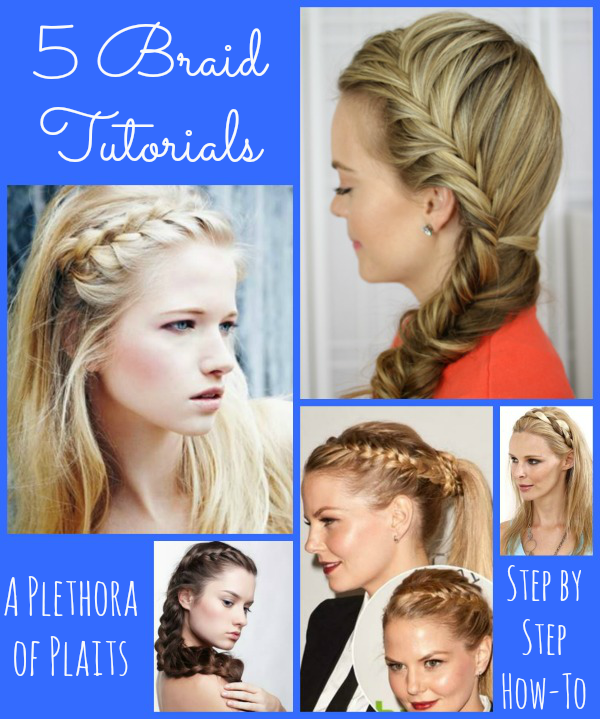 Braid Tutorials Learn How To Make A Plethora Of Plaits Jinxy Beauty