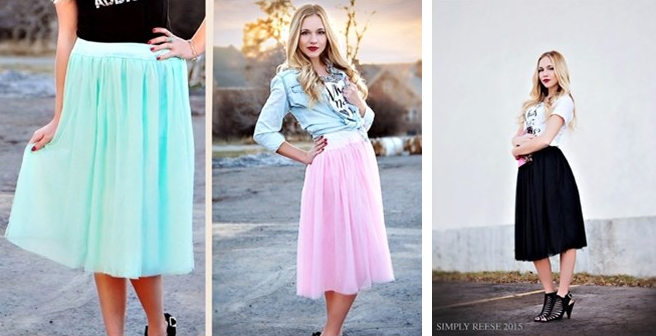 Simply Reese Tulle Skirt