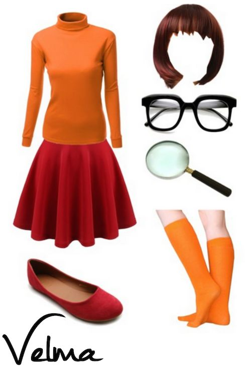 DIY Velma Halloween Costume