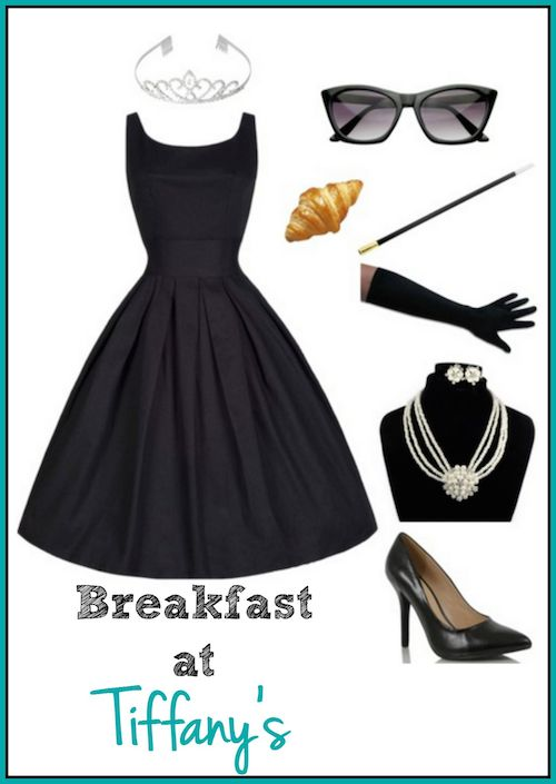 DIY Breakfast at Tiffany's Costume for a Stylish Halloween - Holly Golightly
