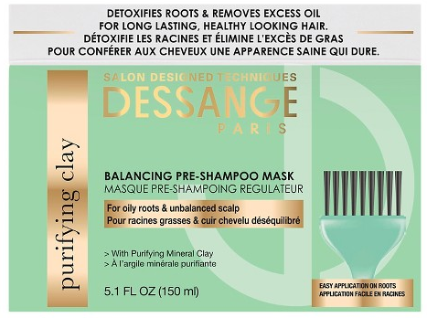 DESSANGE PARIS Purifying Clay Balancing Pre-Shampoo Mask Review