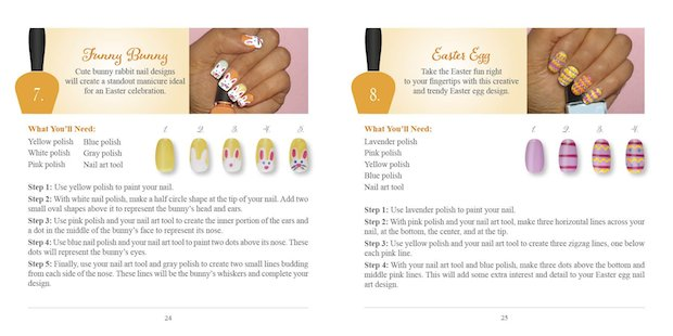 Holiday Nail Art Easter