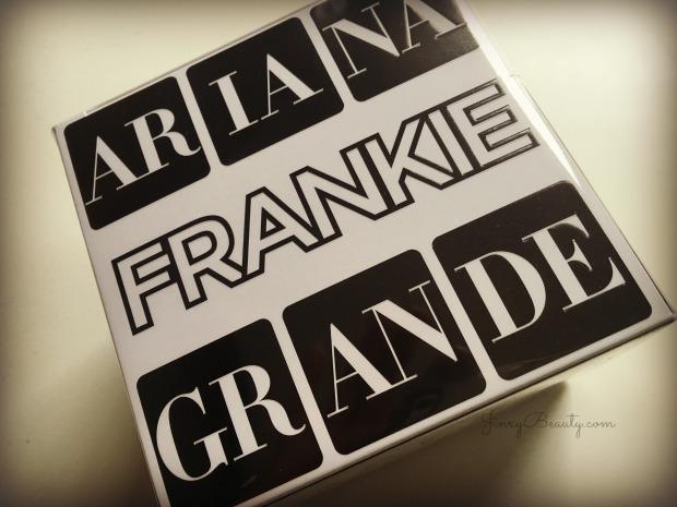 Frankie by Ariana Grande Eau de Parfum Packaging