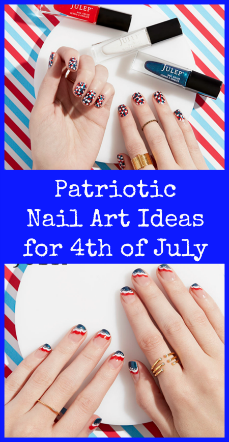 Patriotic Nail Art Ideas for 4th of July