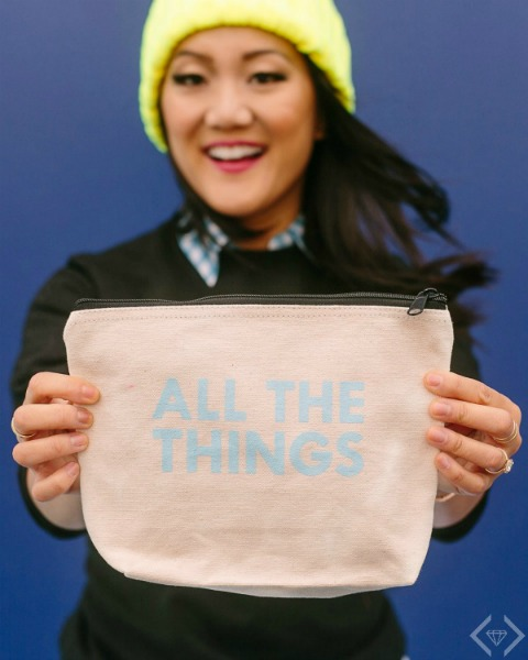 Amy Tan Collection Oh What Fun All the Things Bag