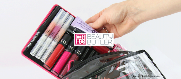 Keep your makeup clean, organized and avoid stress  with Beauty Butler