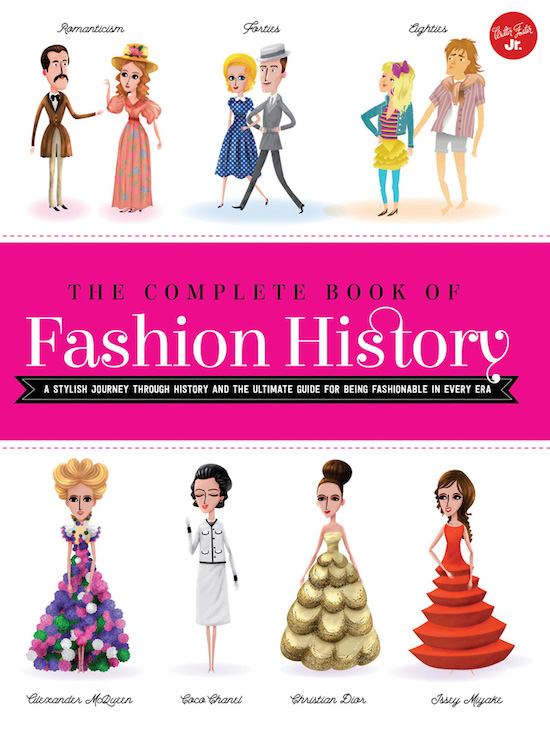 Travel through time and learn about the most popular fashion trends in history!