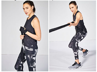 Reebok and Gal Gadot