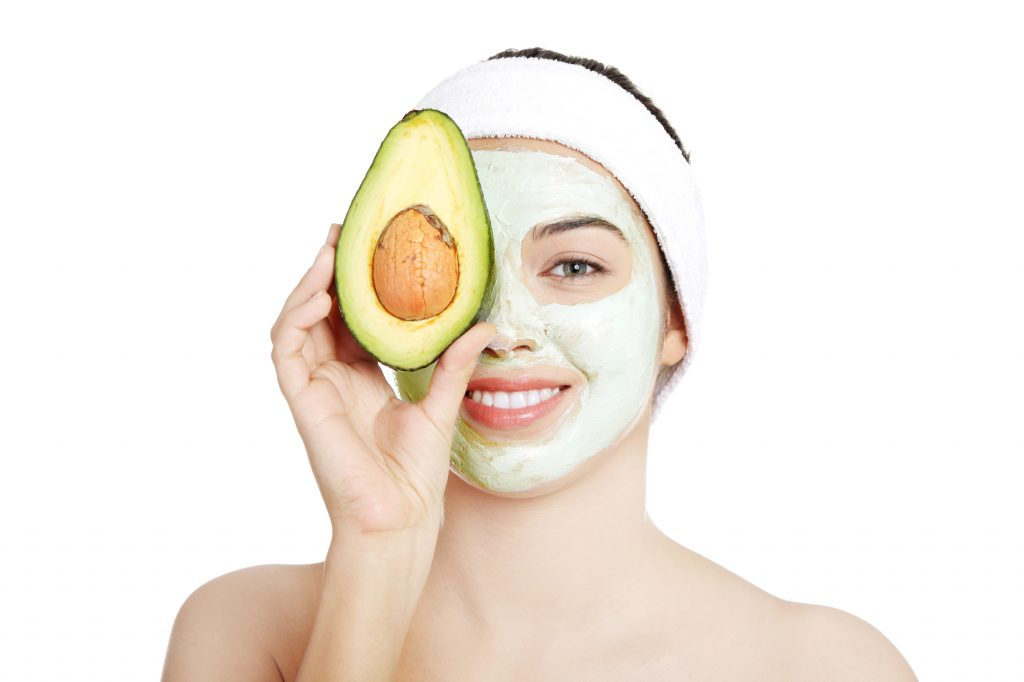DIY Avocado Face Mask with Coconut Oil
